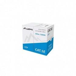 LANBERG Câble Réseau Cat5e UTP AWG 24 CCA 305M