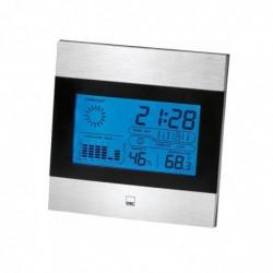 CTC Station météo multifonctionnelle avec Horloge et écran LCD
