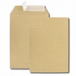 GPV Paquet de 10 pochettes kraft armé brun C5 162x229 130 g/m² bande de protection