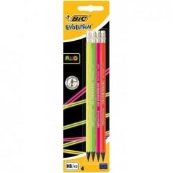 BIC Lot de 4 Crayons...