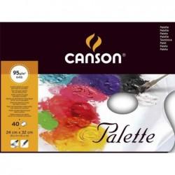 CANSON Palette, 240 x 320 mm, lisse, 40 feuilles