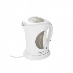ADLER EUROPE Bouilloire Plastique AD 03 1,0 L 900W Blanc