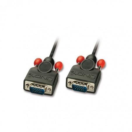LINDY Câble VGA sans ferrites, mâle/mâle, 3m