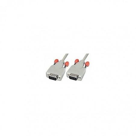 LINDY Câble VGA 15 pins HD mâle/mâle 1m