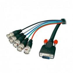 LINDY Câble VGA HD-15/5BNC...