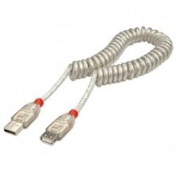 LINDY Câble spirale USB...