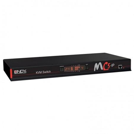 LINDY Commutateur KVM MC5-IP, 24 ports, cat.5
