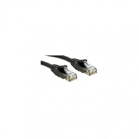 LINDY Câble réseau cat.6 U/UTP Patch Premium, LSOH, cuivre, 250MHz, noir, 3m