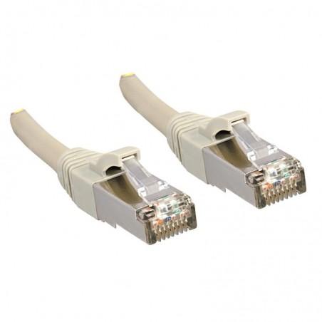 LINDY Câble réseau patch cat.6 S/FTP PIMF Premium, cuivre, LSOH, 500MHz, gris, 0,3m