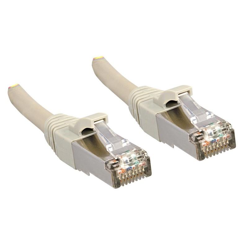LINDY Câble réseau patch cat.6 S/FTP PIMF Premium, cuivre, LSOH, 500MHz, gris, 1m