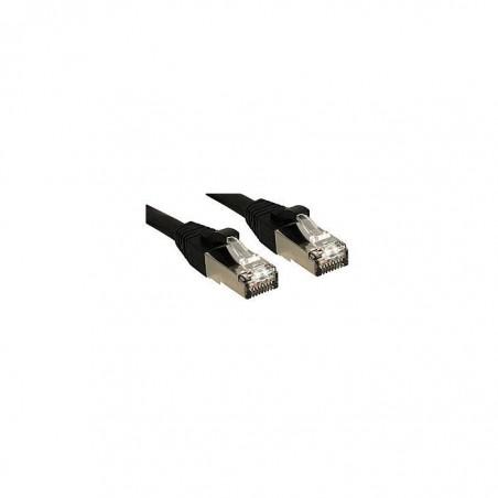 LINDY Câble réseau patch cat.6 S/FTP PIMF Premium, cuivre, LSOH, 500MHz, noir, 2m