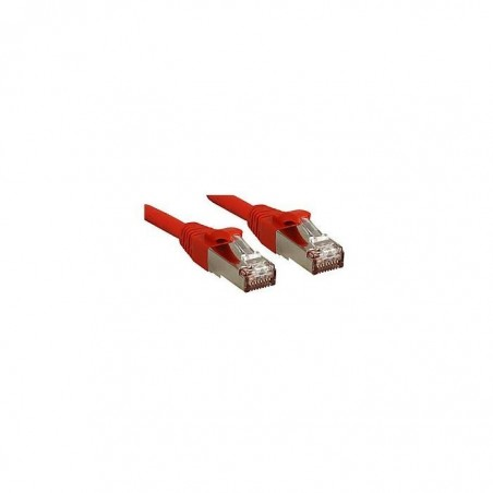 LINDY Câble réseau patch cat.6 S/FTP PIMF Premium, cuivre, LSOH, 500MHz, rouge, 2m