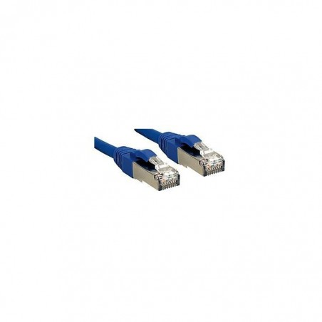 LINDY Câble réseau patch cat.6 S/FTP PIMF Premium, cuivre, LSOH, 500MHz, bleu, 1m