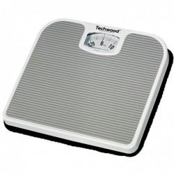 TECHWOOD Pèse personne Mecanique 130 Kg par 1 Kg Gris
