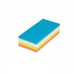 MAUL cartes d'animation rectangulai 20,5 x 9,5 cm, 120 pces/paquet assortis