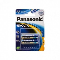 PANASONIC Blister de 2 piles Evolta AA Alcaline