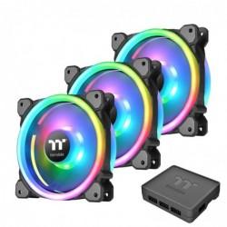 THERMALTAKE Système de refroidissement de 3 ventilateurs Trio 14 RGB