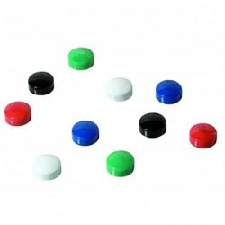 SIGN 10 aimants ronds ø 9 mm coloris assortis