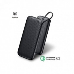 BASEUS Batterie Externe USB-C PD Baseus 20000mAh - Type-C, Double USB - 18W Noir