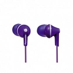 PANASONIC écouteurs RP-HJE 125 E-V violet