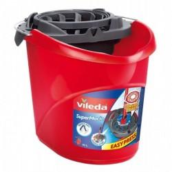 VILEDA Seau essoreur Super 128767 Rouge