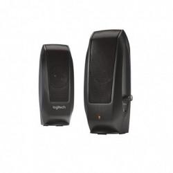 LOGITECH système de haut-parleurs S120 2.0, noir