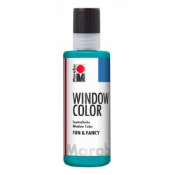 "MARABU Window Color ""fun & fancy"", 100 ml, bleu turquoise"