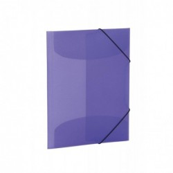 HERMA Chemise à Rabats et Elastiques PP A3 violet translucide
