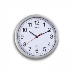 MAUL Horloge murale RC MAULrun Diam 25 cm Contour Argent