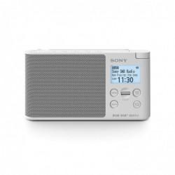 SONY XDR-S41DW Radio Portable Digitale DAB/ DAB+/ FM RDS Blanc