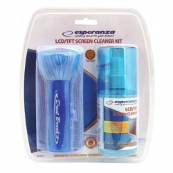 ESPERANZA Kit de Nettoyage ES112 Ecran LED/TFT/LCD 200 ml