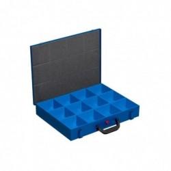ALLIT Mallette en métal pour petites pièces EuroPlus Pro M 12 Cases