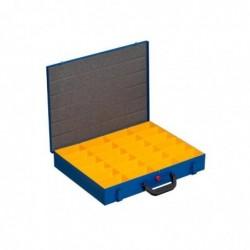 ALLIT Mallette en métal pour petites pièces EuroPlus Pro M 24 Cases