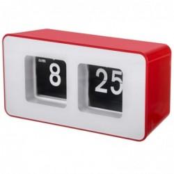 CAMRY Horloge Auto-Flip Rouge