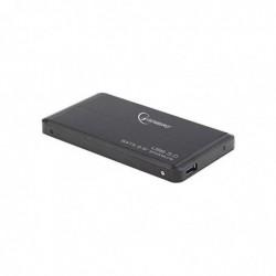 """GEMBIRD Boîtier Externe EE2-U3S-2 pour Disque Dur 2.5"""" USB 3.0 Aluminum Noir"""