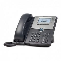CISCO SPA504G Téléphone VoIP 4 lignes avec affichage PoE / Port pour PC