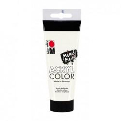 """MARABU Couleur acrylique """"AcrylColor"""", blanc, 100 ml"""