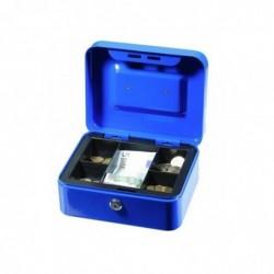 SOLVEIG Caisse à monnaie Bleu N°2 20 x16 x 9 cm Bleu