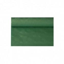 PAPSTAR Nappe damassée en rouleau (l)1,2 x (L)8 m, vert foncé