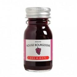HERBIN flacon encre 10ml rouge bourgogne