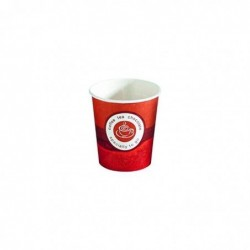 HUHTAMAKI Sachet de 80 gobelets 10 cl café en carton épais H 6,4 cm Diam 6,25 cm