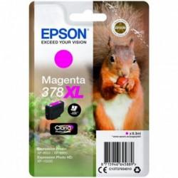 EPSON Cartouche Jet d'encre 378XL Magenta EPSON ECUREUIL (9ml) pour Imprimante Jet d'encre