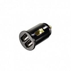 """HAMA Chargeur allume-cigare USB """"Dual Piccolino"""" 5V 2000 mA"""