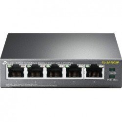 TP-LINK Net Switch Boîtier Métal 5 Ports 10/100 TL-SF1005P