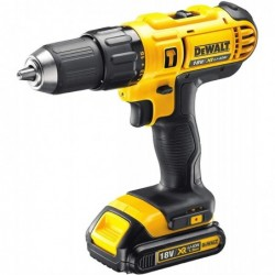 DEWALT DCD776C2 Coffret Perceuse-visseuse à percussion 18V