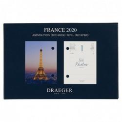 DRAEGER Recharge éphéméride agenda Yvon France 2020