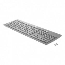 HP Clavier Sans Fil Link-5 2,4GHz AZERTY France Noir