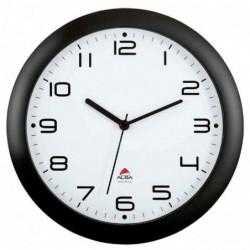ALBA Horloge Murale HORNEW M à Quartz Noir