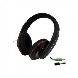 ESPERANZA Casque Supra-aural Ecouteur avec Fil 5 m Noir