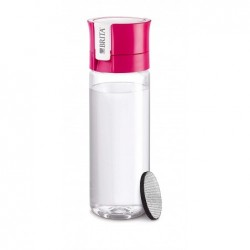 BRITA Bouteille Filtrante Fill & Go 0,6 L Avec Disque Filtrant Vital pink